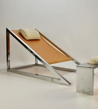 mies-chair-with-ottoman-by-archizoom-associati-for