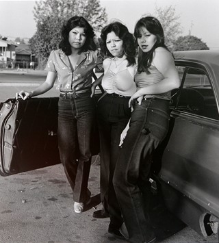 Rivera Bad Girls, LA, 1983 (