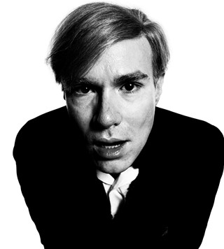Andy Warhol 1965 © David Bailey. Courtesy Gagosian