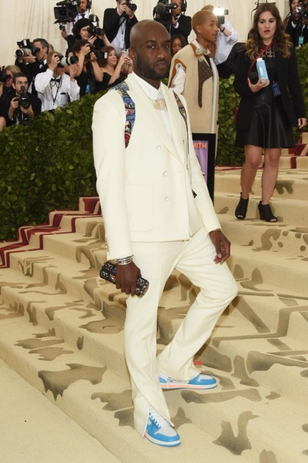 Louis Vuitton Virgil Abloh Met Gala 2018