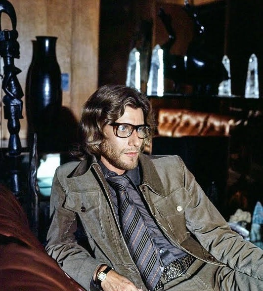 Celebrating the Eternal Elegance of Yves Saint Laurent's Personal Style