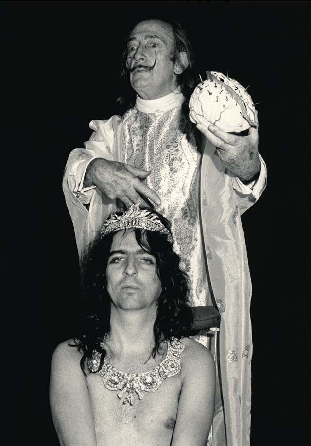 Alice Cooper and Salvador Dalí
