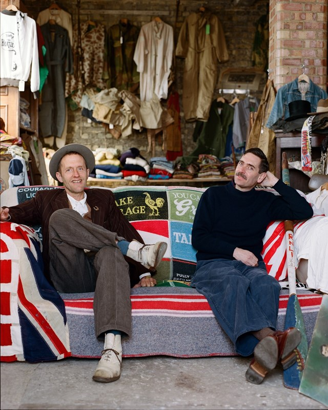 interview vintage dealers shop Paul Breuer and Matt Dawson
