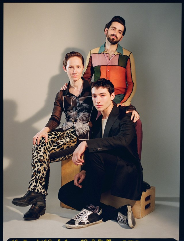Ezra Miller Sons Illustrious Father Another Man interview