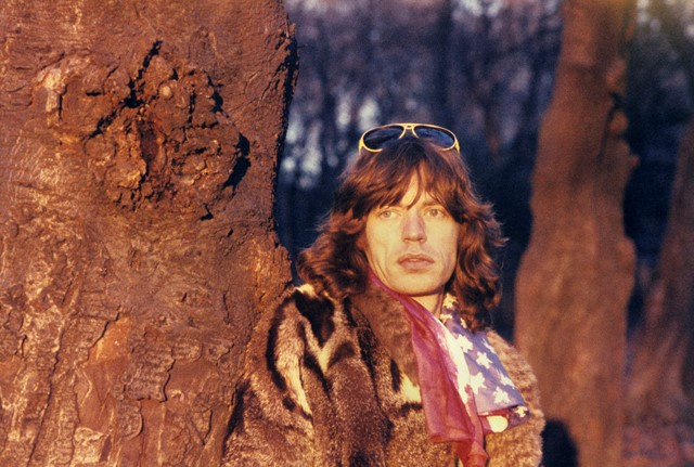 Mick in Holland Park - 1976
