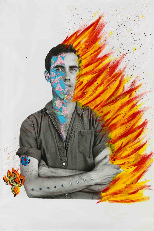 Portrait-Self Portrait of David Wojnarowicz_1983-8