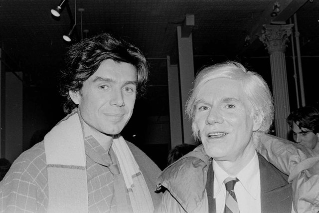 Richard Bernstein and Warhol