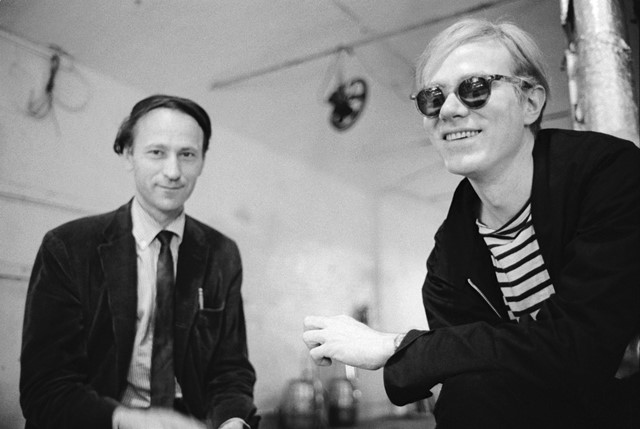 With Andy Warhol at The Factory