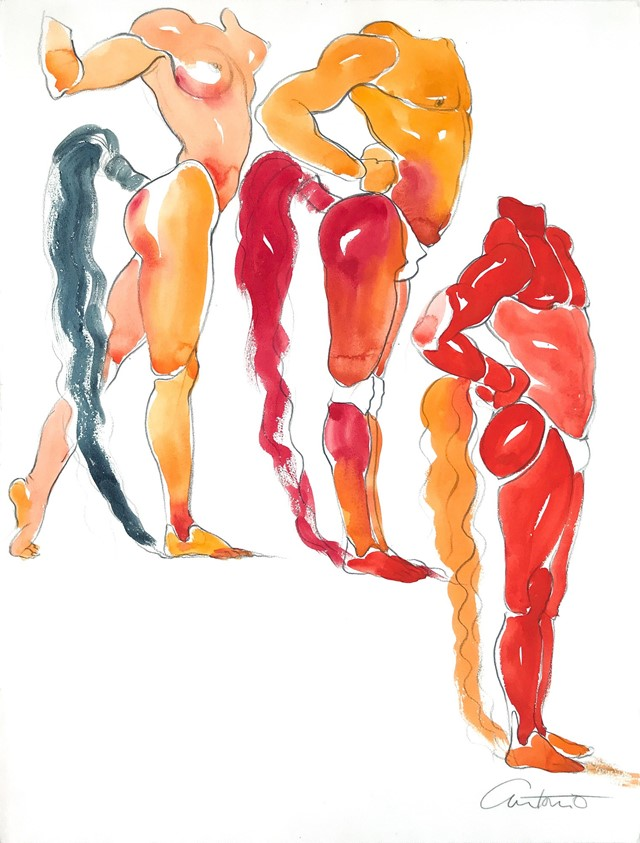 Body Study, models unknown, c. 1982