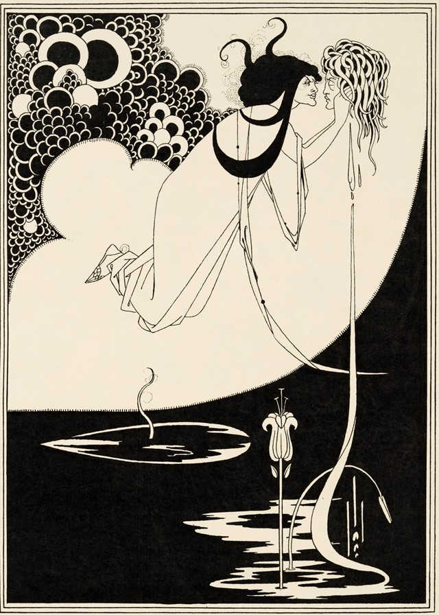 Aubrey Beardsley Oscar Wilde's Salome The Climax