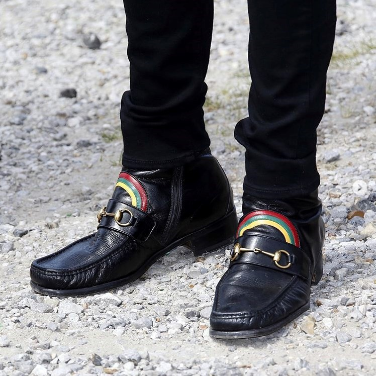 How You Can Win Harry Styles' Rainbow Gucci Loafers
