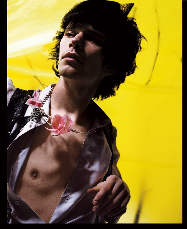 Ben Whishaw, Nick Knight, Another Man Magazine