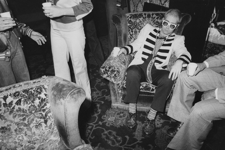 House of Nutter Press 12 - Elton John in armchair