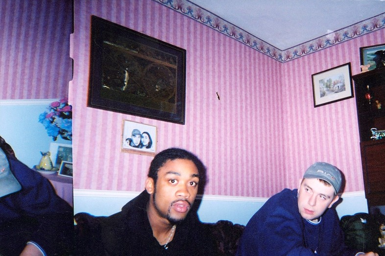 Wiley and Slimzee young Bow DJ Target book grime