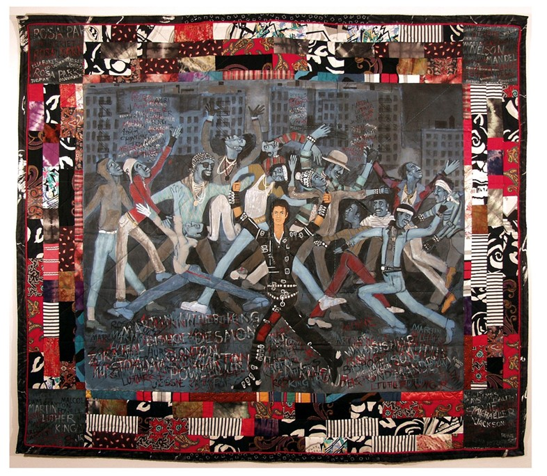 063_Who's Bad by Faith Ringgold