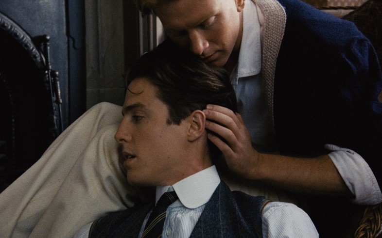 Hugh Grant & James Wilby in MAURICE (A BFI release