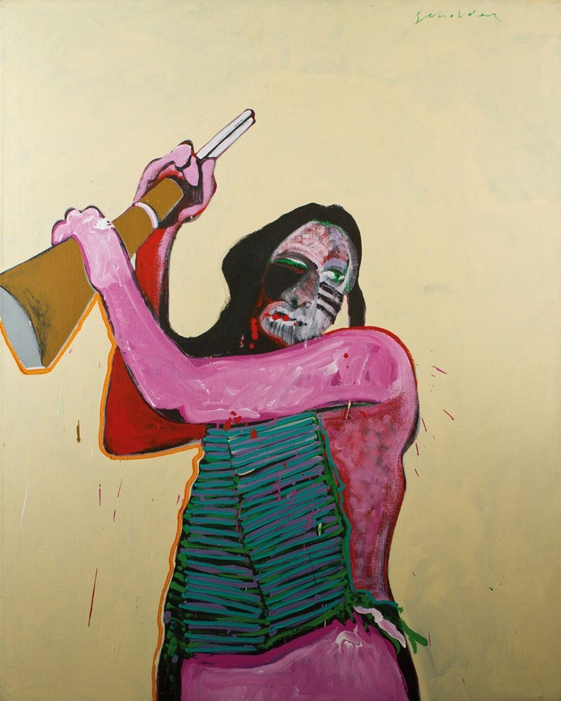FRITZ SCHOLDER – HOLLYWOOD INDIAN 1973