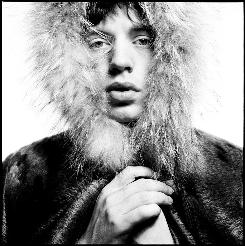 Mick Jagger © David Bailey. Courtesy Gagosian