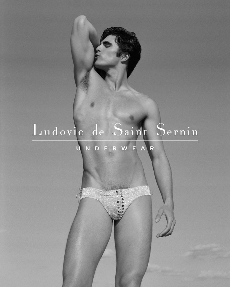 f929eb245 LdSS Underwear Campaign 1 Ludovic de Saint Sernin Underwear CampaignPhotography  by Thomas Giddings