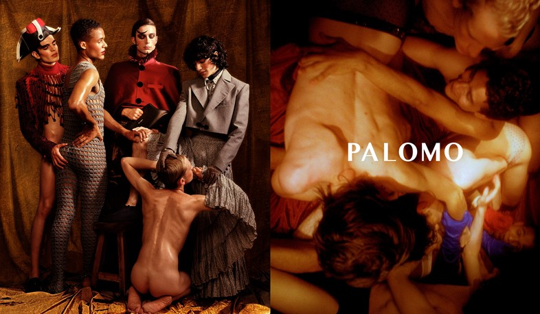 Palomo Spain's Latest Campaign Is a Sensual Celebration of Queer Romance