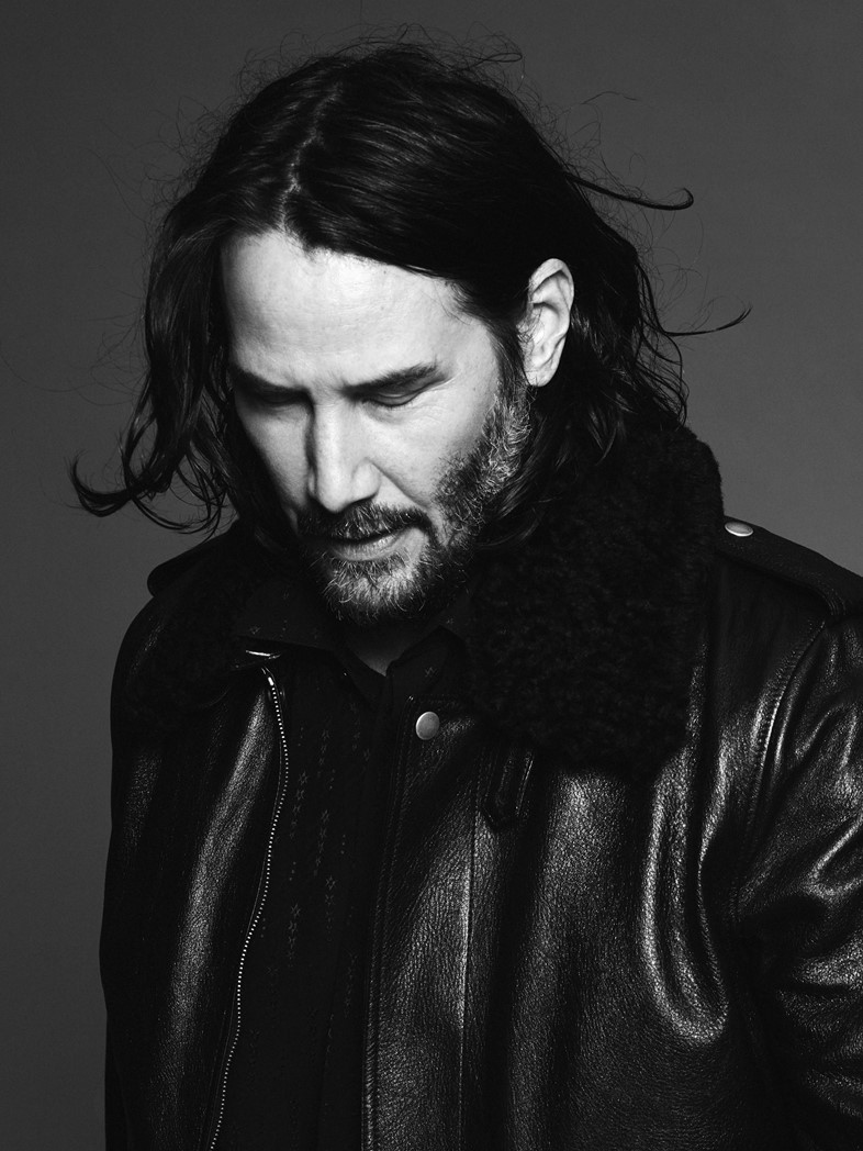 Keanu Reeves fashion style Saint Laurent 2019 David Sims