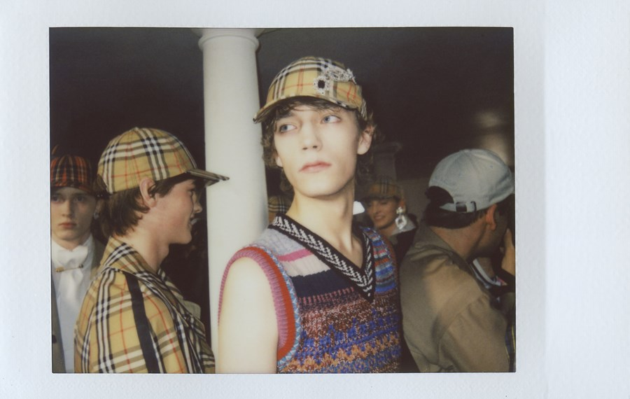 Backstage Burberry September 2017 London Bailey