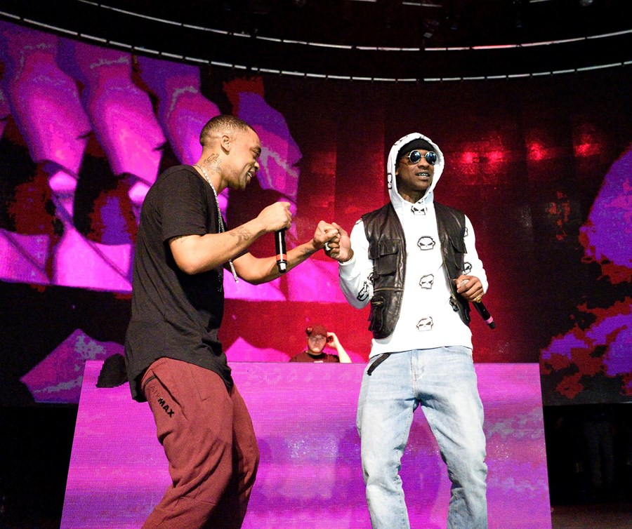 24 Me and Skepta at the Godfather Roundhouse show,