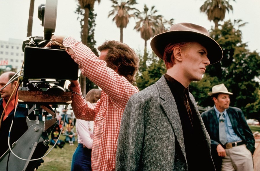 David Bowie The Man Who Fell To Earth film David James style
