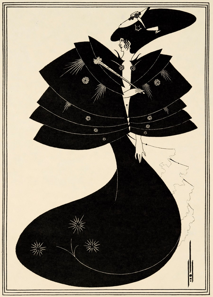 Aubrey Beardsley Oscar Wilde's Salome The Black Cape