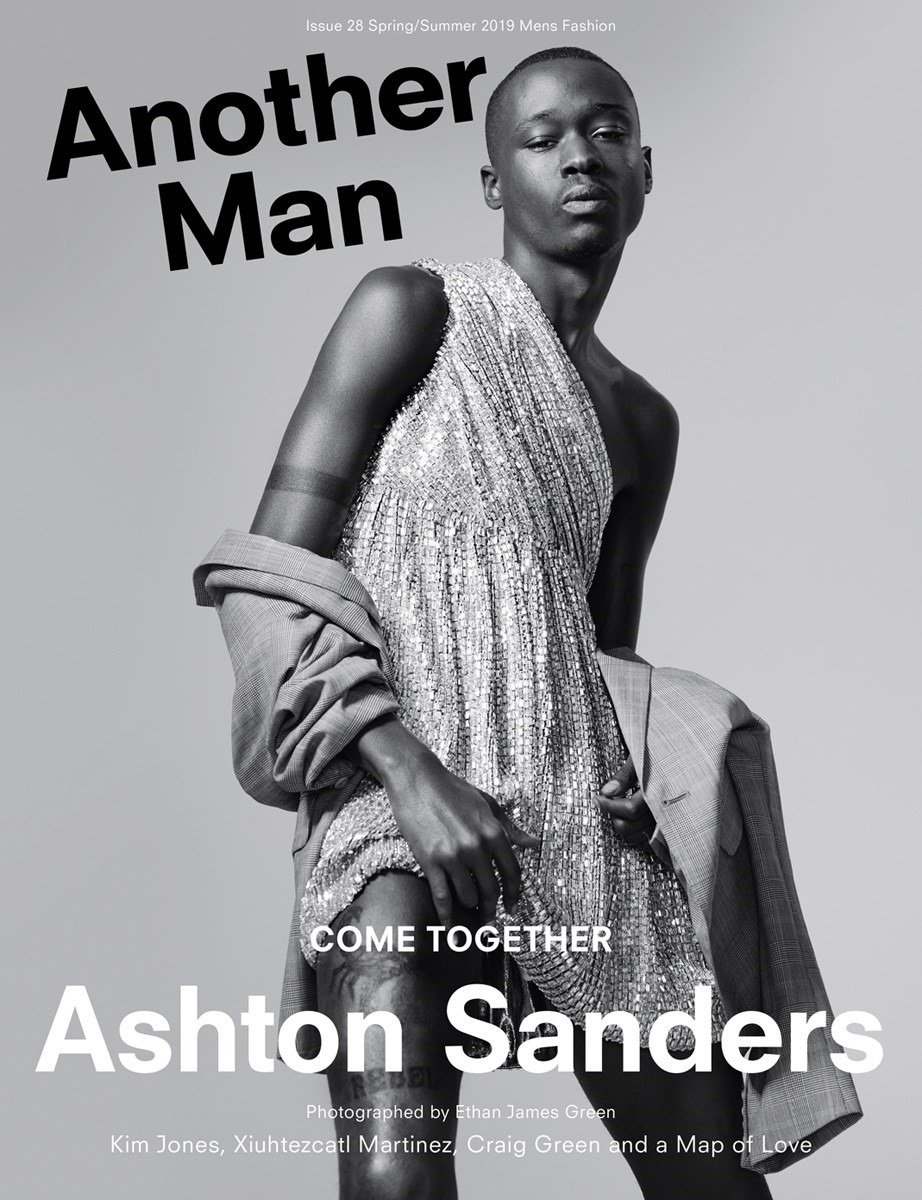 Ashton Sanders Another Man Magazine Ethan James Green cover